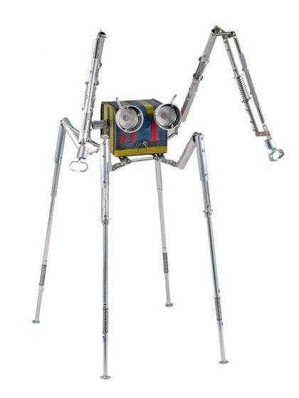 Arachnida  | Factoria de Androides by Satrapa