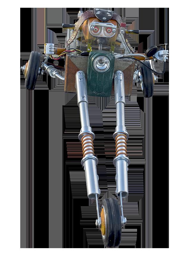 Super Triketwagen | Factoria de Androides by Satrapa
