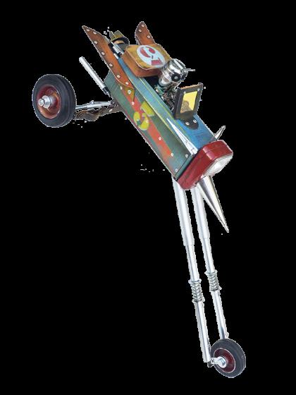 Jet triketwagen| Factoría de Androides by Sátrapa